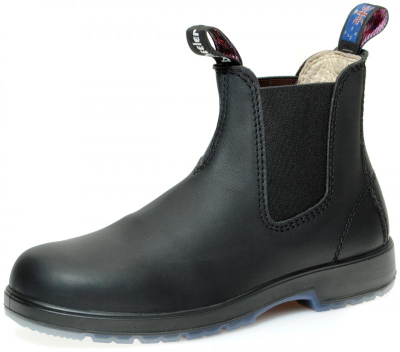 angebot blue heeler boots outback black im outback. Black Bedroom Furniture Sets. Home Design Ideas