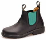 Yabbies Town & Country Chelsea Boots - Black and Jade