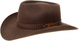 Akubra Snowy River / rodeo brown