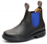 Yabbies Town & Country Chelsea Boots - Ebony and Blue